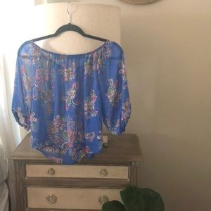 Paisley Off The Shoulder Top